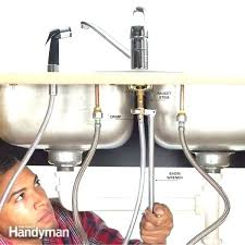 how to install a kitchen faucet how to install kitchen faucet sprayer installing a kitchen faucet how to install a kitchen faucet cost