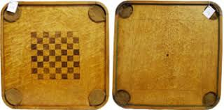 Antique Wooden Game Boards Vintage Board Museum Carrom Company 97