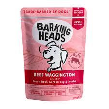 "Пауч для собак, <b>BARKING HEADS</b> Beef Waggington ""<b>Вуф</b> ..."