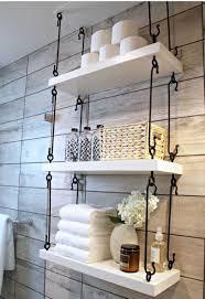 wrought iron bathroom shelf. Gorgeous Rustic Bathroom Decor Ideas To Try At Home Wrought Iron Shelf