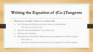 10 writing the equation