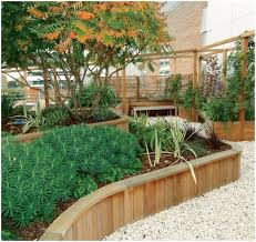 Small Picture Backyards Fascinating Wood Retaining Walls 57 Garden Wall Ideas