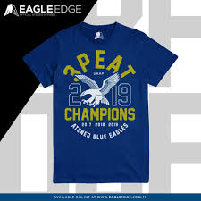 Ateneo T Shirt Designs Lady Eagles 3peat Champions Atened Blue Eagles Shirt