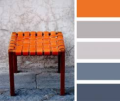 Orange And Blue Living Room Burnt Orange Gray And Blue Palette Casamidy Palette