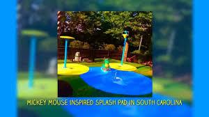 my splash pad residential backyard water park splashpad
