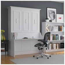 leto muro allegra portrait full size murphy bed with built in desk white pcrichard com alegdbdskp