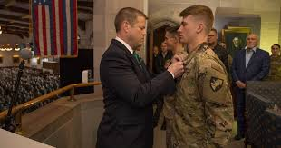Army secretary awards <b>Army Commendation</b> Medal to West Point ...
