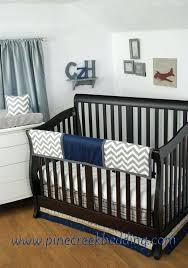 navy blue crib skirt grey chevron sheet and blanket with a grey ruffled crib skirt and