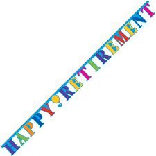 retirement banner clipart retirement party banner cliparts abeoncliparts cliparts vectors