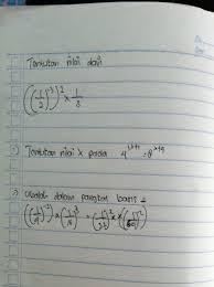 Bilangan berpangkat dan bentuk akar. Soal Matematika Kelas 9 Dengan Cara Kerjanya Brainly Co Id