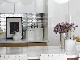 Metal Wall Tiles For Kitchen Stainless Steel Backsplash Tiles Pictures Ideas From Hgtv Hgtv
