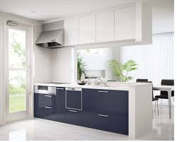 black and stainless kitchen full size of  interior white ikea kitchen design ideas blue high gloss kitchen island stainless steel range hood wall mounted white porcelain glass countertop black dining chair greem indoor