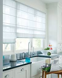 Roman Blinds In Kitchen Kitchen Curtains Design Photos Types And Diy Advice