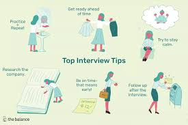 Career Interview Tips 7 Interview Tips That Will Help You Get Hired Career