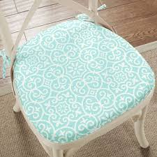 madison park morro fretwork indoor outdoor chair pad pair set of 2
