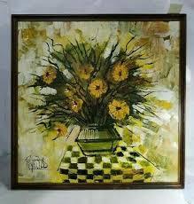 life fl oil painting 43x43 ebay