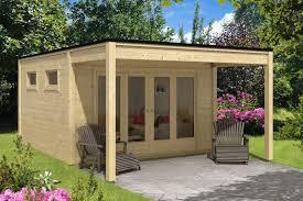 Design Gartenhaus Cubus Saturn40