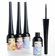 cute anese doll black liquid waterproof eyeliner makeup eye liner cosmetics make up