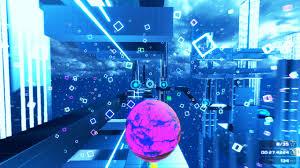 Рецензия на игру inmomentum Паркур в мире минимализма Геймпадик В первом режиме sphere hunt вам предстоит собирать разбросанные по всему уровню сферы Часто они расположены так что увидеть их можно только забравшись