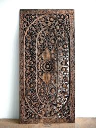 carved wall decor wood carved wall art wood carved wall art crate and barrel wood carved carved wall decor