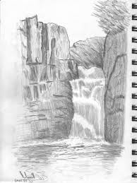 3d drawing nature scenes 3d pencil sketch nature drawing simple