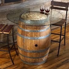 wood barrel furniture. Furniture:Wine Barrel Table Top Brackets Fire Diy Wood Bar For Gas Global Outdoors Ideas Furniture