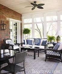 wicker furniture for sunroom. Perfect Sunroom Before And After Revived GeorgianStyle Home For Wicker Furniture Sunroom S