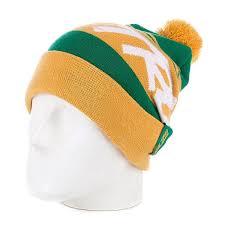 <b>Шапка</b> с помпоном <b>True Spin Jacquard</b> Styles Yellow/Green ...