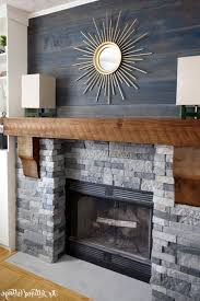 um image for winsome slate stone veneer fireplace best stone fireplace makeover slate gray stacked stone
