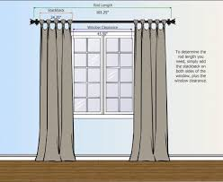 ... Captivating Ideas For Hanging Curtain Rod Design How To Measure For  Your Curtain Rod Curtains And ...