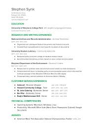Stephen Synk Resume