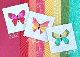 Butterfly Charm Blocks | Free Paper Piecing Pattern by lillyella ... & Butterfly Charm Blocks | Free Paper Piecing Pattern by lillyella stitchery Adamdwight.com