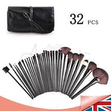 image is loading 32 pcs wood makeup brush brushes kit professional