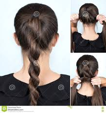 Self Hair Style simple hairdo self tutorial stock photos images & pictures 56 5162 by wearticles.com