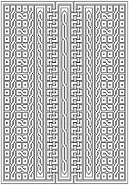 Celtic Pattern Mesmerizing Celtic Knot Pattern Coloring Page Free Printable Coloring Pages