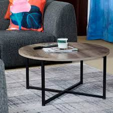 round coffee table rustic coffee table