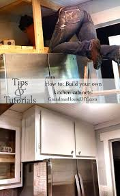 picture of how to build your own kitchen cabinets