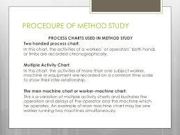Two Hand Process Chart Example Method Study Abhishekkumar