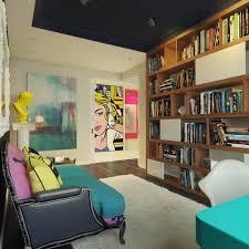 Pop Art Design Ideas Pop Art And Shelving Interior Design Ideas