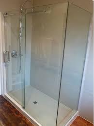 tempered glass sliding door shower enclosure shower room for hotel bathroom