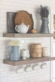 elegant open kitchen shelves decorating ideas 3