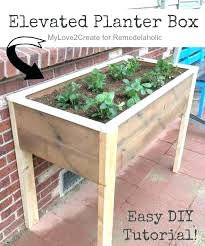garden boxes garden planter boxes above ground planters this elevated planter box is raised up garden boxes