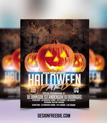 Flyer Design Free 60 Premium Free Psd Halloween Flyer Templates Free Psd Templates
