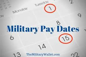 Navy Federal Military Pay Chart 2019 2020 Military Pay Dates Active Duty National Guard And