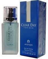 <b>Etienne Aigner Clear Day</b> For Men Eau De Toilette Spray 3.4oz ...