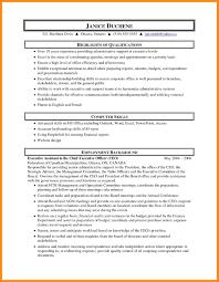 Administrative Resume Objective Resume Online Builder