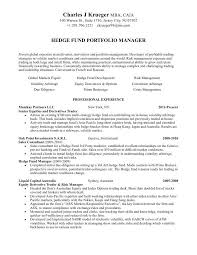 Equity Trader Resume Sample Experience Capture Financial Analyst