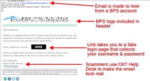 Help Rotten Desk Email Phish Fake