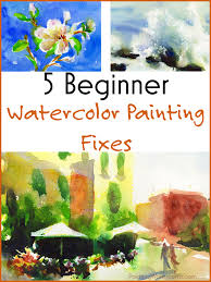 5 beginner watercolor painting fi painting lesson by jennifer branch