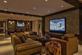 Living Room Ultimate Basement Man Cave Excellent Throughout Living